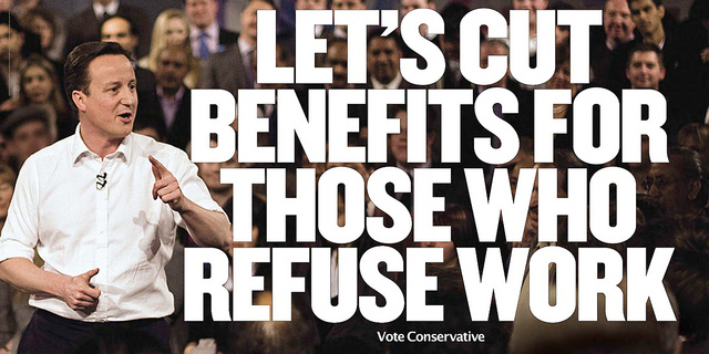 Tory election poster