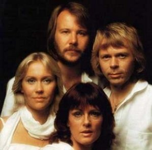 The Swedish group 'Abba'