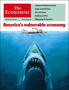 Economist Cover, Nov 2007