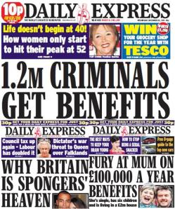The Daily Express everyone!