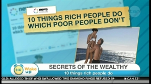 Coverage on Australian news